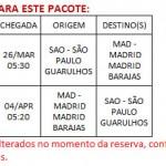 PACOTE SLEAZY MADRID  - DE 25 DE ABRIL A 03 DE MAIO DE 2018