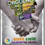 PACOTE PARADA GAY DE SALVADOR DE 07 A 11 DE SETEMBRO DE 2017