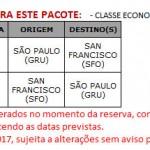 PACOTE – PARADA GAY DE SAN FRANCISCO – DE 20 A 27 DE JUNHO DE 2017